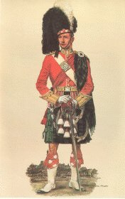 Argyll and Sutherland Officer Review Order 1914 by Haswell Miller
