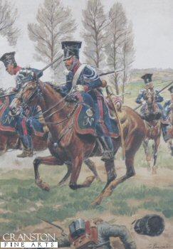 Garde Imperiale Chevau Legers Polonais  - Tenue De Campagne by L Rousselot
