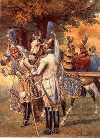 Garde Imperiale Dragons de LImperatrice - Trompettes Tenue Parade by L Rousselot