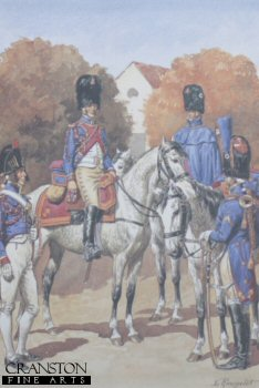 Garde Imperiale Grenadiers a Cheval - Trompettes by L Rousselot