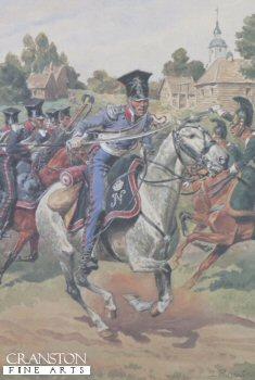 Garde Imperiale Chevau Legers Polonais  -  Trompette - Tenue De Campagne by L Rousselot