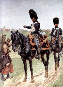 Garde Imperiale Grenadiers a Cheval - Jeune-Garde 1813-1814 by L Rousselot