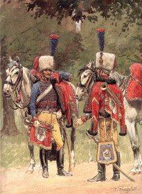 Grande Imperiale - Chasseur a Cheval - Trompettes Tenue de Parade by L Rousselot