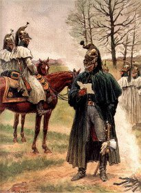 Garde Imperiale Dragons de LImperatrice - Tenue de Campagne en Manteau by L Rousselot