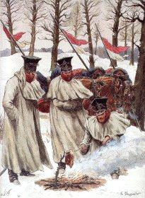 Garde Imperiale Chevau Legers Polonais - Tenue De Campagne en Manteau by L Rousselot