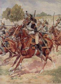 Garde Imperiale Dragons de LImperatrice - Tenue de Campagne by L Rousselot