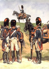 Garde Imperiale Grenadiers a Cheval - Tenue de Campagne 1806-1814 by L Rousselot
