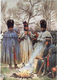 Garde Imperiale Grenadiers a Cheval - Tenue de Campagne en Manteau by L Rousselot