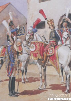 Garde Imperiale Grenadiers a Cheval - Trompettes et Timbalier by L Rousselot