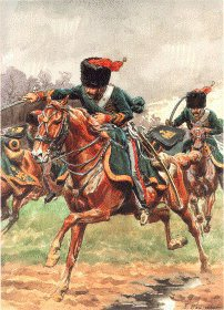 Grande Imperiale - Chasseur a Cheval - Campagne de France 1811 by L Rousselot