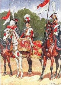 Garde Imperiale Chevau Legers Polonais  - Timbalier by L Rousselot