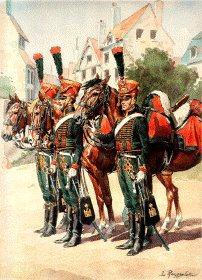 Grande Imperiale - Chasseur a Cheval - Escadrons de Jeune Garde, Grande Tenue 1813 by L Rousselot