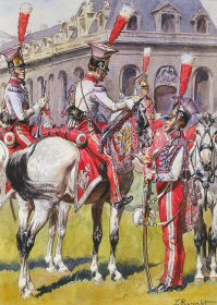 Garde Imperiale - Chevau - Legers Polonais by L Rousselot