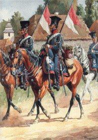 Garde Imperiale Chevau Legers Polonais 1807-1814 - Tenue De Campagne 1812-1813 by L Rousselot