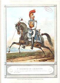 1 er Regiment de Carabiniers by Carl Vernet