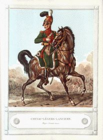 Chevau-Legers-Lanciers by Carl Vernet