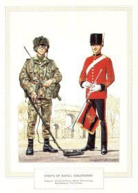 Corps of Royal Engineers by Douglas Anderson