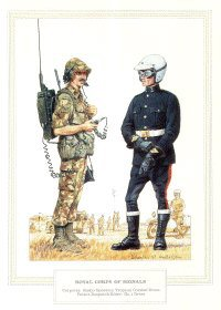 Royal Corps of Signals by Douglas Anderson