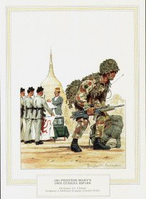10th Princess Marys Own Gurkha Rifles by Douglas Anderson