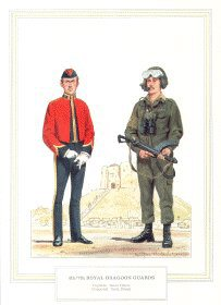 4th/7th Royal Dragoon Guards by Douglas Anderson.