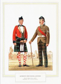 Queens Own Highlanders by Douglas Anderson