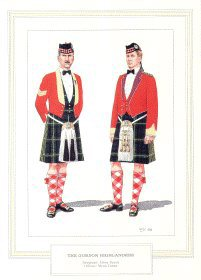 Officer Gordon Highlanders