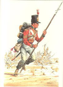 Coldstream Guards 1810 by Douglas Anderson
