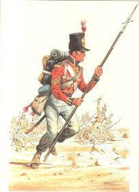 Coldstream Guards 1810 by Douglas Anderson