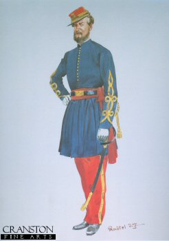 53rd New York Volunteers Officer (DEpineuil Zouaves) 1861 by Richard Knotel