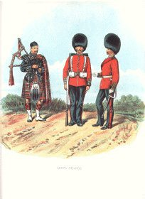 Scots Guards by Richard Simkin
