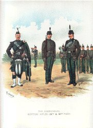 Cameronians by Richard Simkin. (P)
