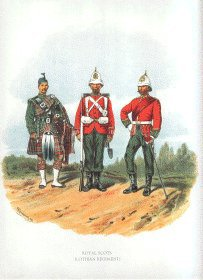 Royal Scots by Richard Simkin