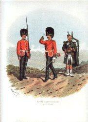 Royal Scots Fusiliers by Richard Simkin. (P)