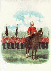 Royal Sussex Regiment by Richard Simkin