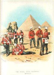 Royal Irish Regiment by Richard Simkin.