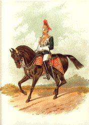 Royal Horse Guards by Richard Simkin.