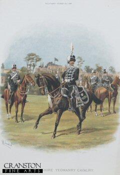 Warwickshire Yeomanry by Richard Simkin