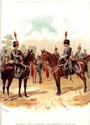Wiltshire Yeomanry by Richard Simkin (P)