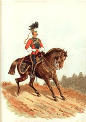 16th Lancers by Richard Simkin