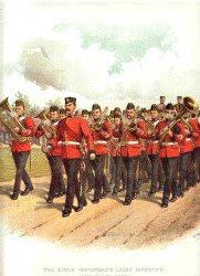 Shropshire Light Infantry by Richard Simkin.