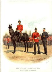 Middlesex Regiment by Richard Simkin