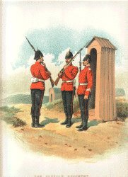 The Suffolk Regiment by Richard Simkin (P)
