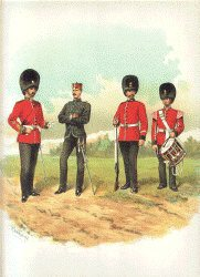 Royal Inniskilling Fusiliers by Richard Simkin. (P)