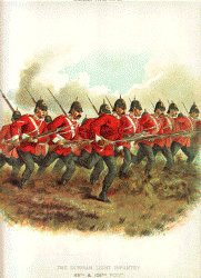 Durham Light Infantry by Richard Simkin.