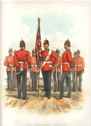 The Connaught Rangers by Richard Simkin