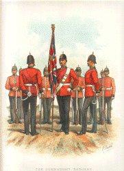The Connaught Rangers by Richard Simkin (P)