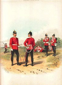 The Hampshire Regiment by Richard Simkin