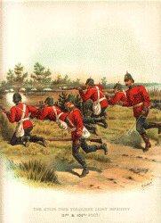 Kings Own Yorkshire Light Infantry by Richard Simkin