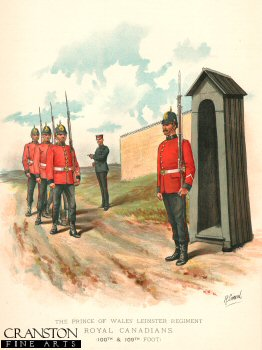 Royal Leinster Regiment by Richard Simkin