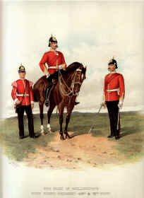 Duke of Wellington's West Riding Regiment by Richard Simkin (P)